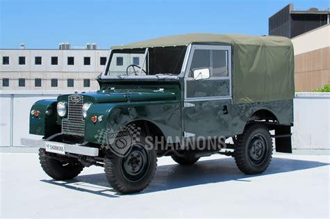 land rover series 1 for pristine 1954 land rover series 1 for auction no reserve