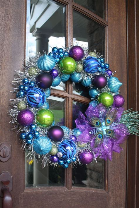 25 best ideas about peacock christmas on pinterest