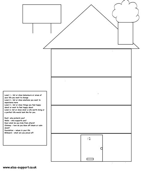 printable house pdf dbt house elsa support