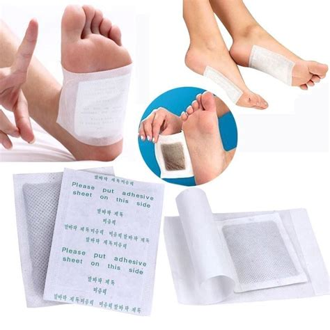Foot Detox by 100pcs Detox Foot Pads Patch Detoxify Toxins Adhesive