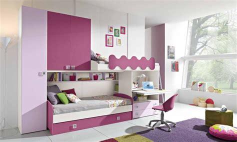 camerette con scrivania cameretta a ponte vari colori l 342 cm con 3 letti e