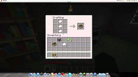 how to make paper books and bookshelves in minecraft