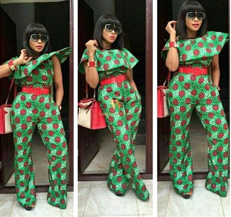 ankara jumpsuit styles photos latest ankara jumpsuit styles african nigerian fashion
