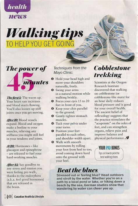 walking tips walking tips exercise