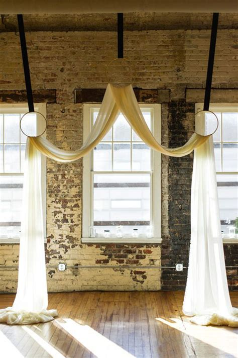 How To Hang Curtains 9 fun ideas for wedding arches woman getting married