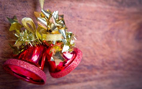 christmas jingle bells images  holly ribbon