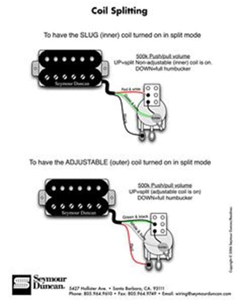 double humbucker coil tap push pull guitar mods