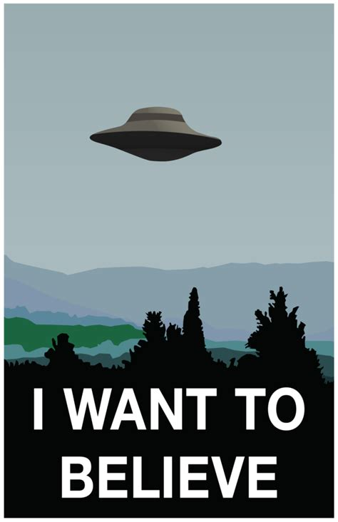 I Want To Believe consulta imagen quot i want to believe quot que signf taringa