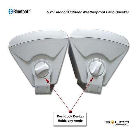 patio speakers bluetooth bluetooth outdoor speakers for patio or pool with