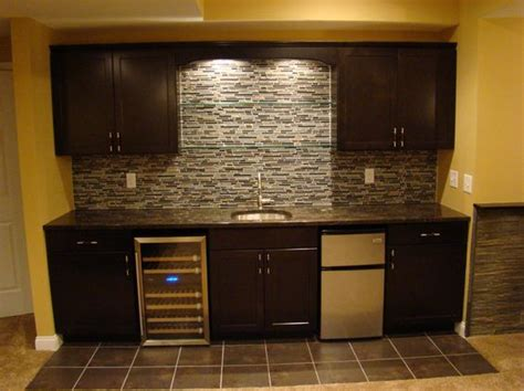 Basement Bar Backsplash Pretty Basement Bars Image Gallery In Basement
