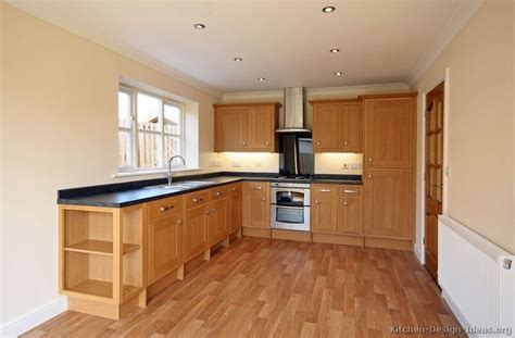 wood floors in kitchen with wood cabinets pictures of kitchens traditional light wood kitchen