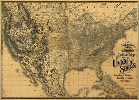 railroad map united states the world s catalog of ideas