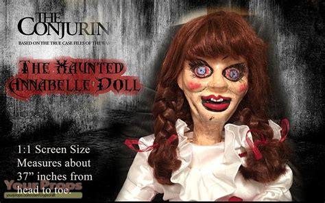 annabelle doll 1 annabelle my annabelle doll size made from scratch