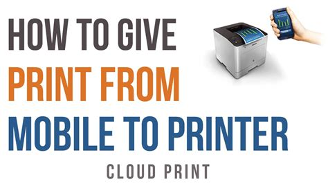 how to print on android how to give print from mobile android or iphone to printer