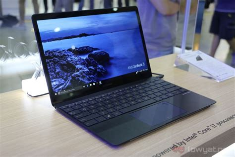 Laptop Asus Zenbook Di Malaysia asus zenbook 3 transformer 3 pro transformer 3 launched in malaysia cost up to rm7 999