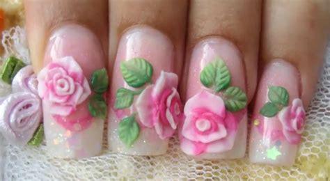 3d Nail Art Tutorial Acrylic   3d acrylic nail art tutorial nail art design from