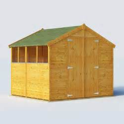 billyoh 7 x 8 windowed tongue and groove apex garden shed