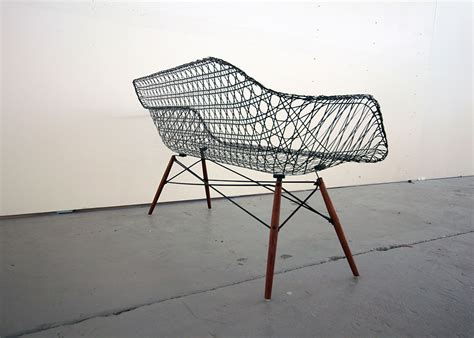 carbon fiber couch matthew strong reinvents the iconic eames sofa using