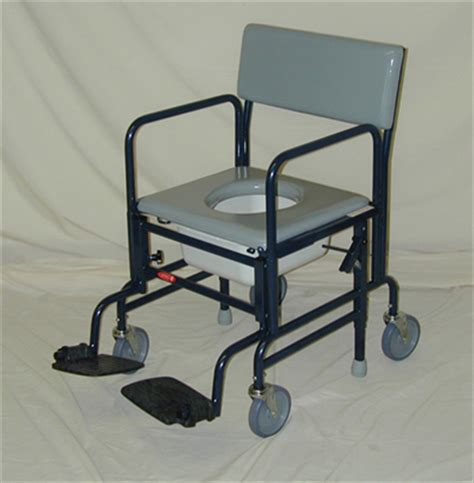 Activeaid Shower Chair by Activeaid 461 Shower Commode Chair With 5 Quot Wheels