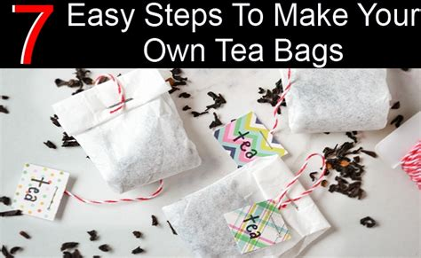 make your own stuff make your own floor plans modern 7 easy steps to make your own tea bags diy home things