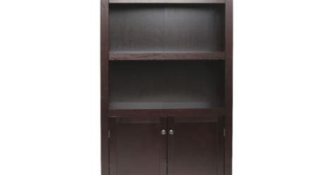 threshold carson 5 shelf bookcase with doors carson 5 shelf bookcase with doors threshold