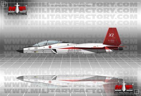 Mitsubishi X-2 (ATD-X / Shinshin) 5th Generation Fighter ... X 2