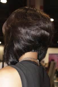 one side stack sassy bob bllack hair 16 charming black bob hairstyles for 2017 pretty designs