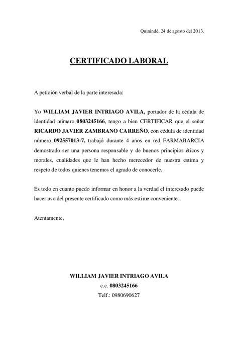 como solicitar una certificacion en bancolombia certificado de laboral