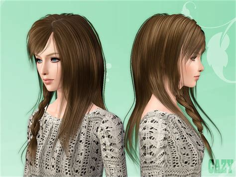 sims 3 free hairstyle downloads cazy s steps hairstyle female