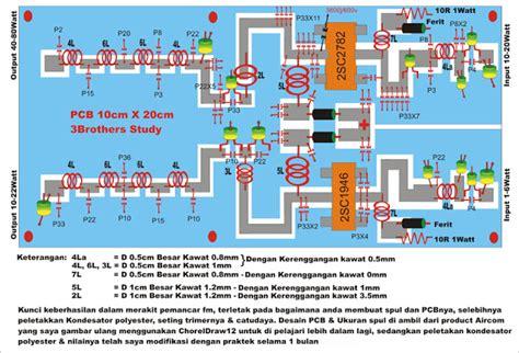 Kabel Data Kwalitas Ok skema booster fm 80watt menggunakan 2sc1946a 2sc2782