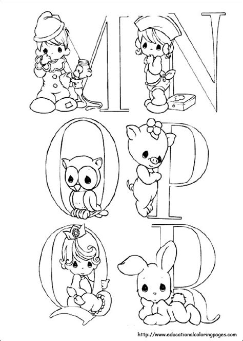 precious moments coloring pages free for kids