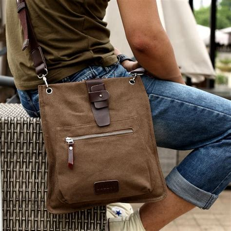 Tas Selempang Korea Cowok Sling Bag Mo Y Stylish Slash Zipper Moy Li messenger bags casual bags and shoulder bags on