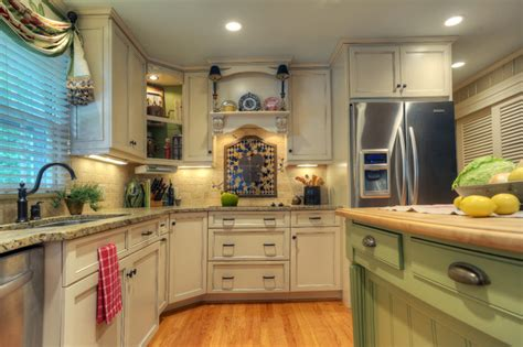 Green Kitchen Islands by Green Island