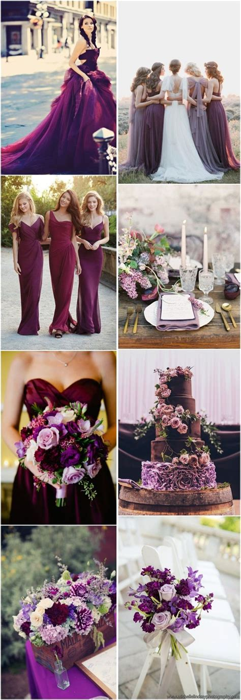 plum wedding colors 17 best images about purple and chagne wedding on