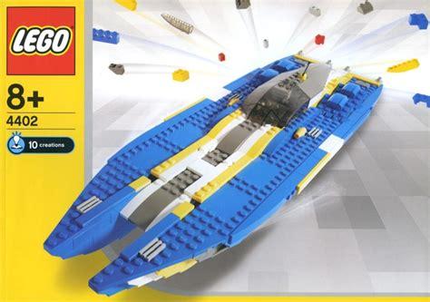 lego yacht tutorial 4402 1 sea riders brickset lego set guide and database