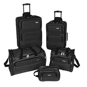 Samsonite Shows Their Luggage Collaboration With Mcqueen by Samsonite 5 Luggage Set Set Includes 22 26
