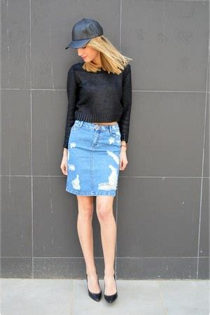asos denim skirt how to wear and where to buy chictopia