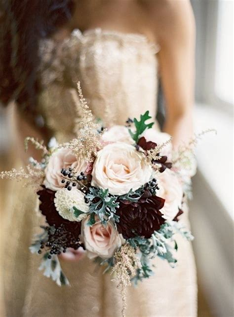 Wedding Bouquet Ideas For Winter by Winter Wedding Flowers Mywedding