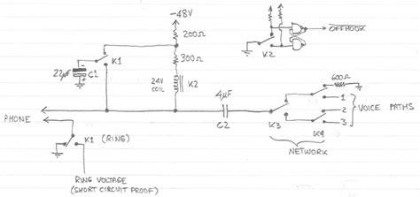 simple pbx circuit diagram periodic diagrams science