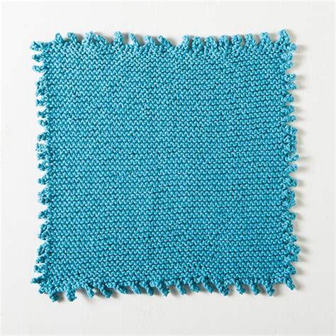 knit picot picot edge dishcloth knitting patterns and crochet