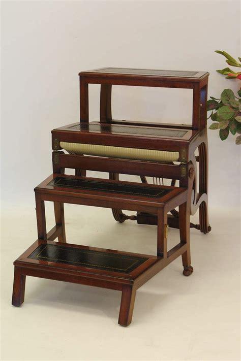 stuhl treppe b 252 rostuhl treppenstuhl leiterstuhl im antik stil
