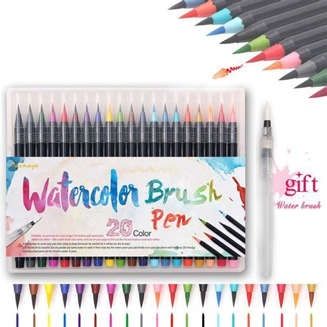 watercolor brush pen sets prestigify