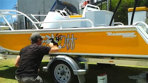 boat graphics removal simple boat graphics youtube