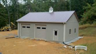 Garage Kits With Loft cheap simple design of the pole barn garage kits with loft that can be