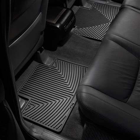 Toyota Tacoma Floor Mats 2006 by Weathertech 174 W136 All Weather Floor Mats 2nd Row Black