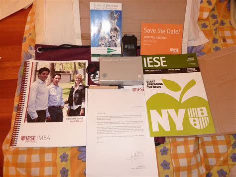 Iese One Year Mba by Memoirs Of A Mba Aspirant Iese Business School Welcome Kit