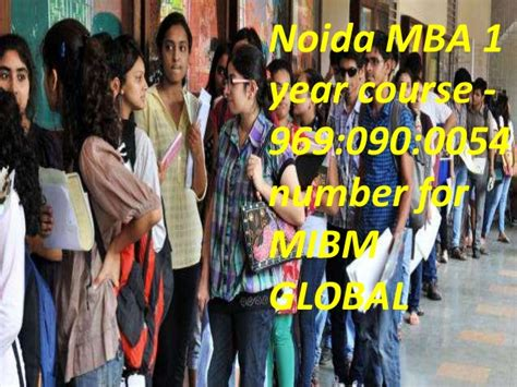 Mba 1 Year Course by Mba 1 Year Course 969 090 0054 Mibm Global