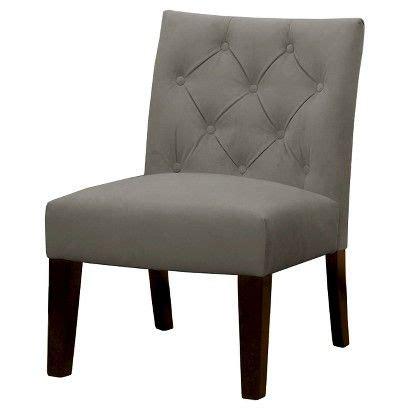 tufted desk chair target threshold geneva tufted slipper chair target new