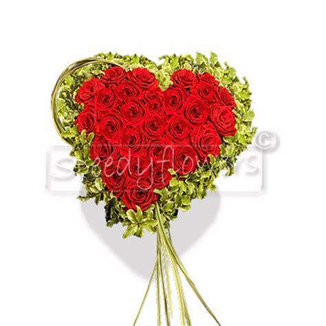 fiori a forma di cuore composizione a forma di cuore personalizzata