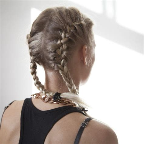 Hairstyles With Braids On The Side by Best 25 Two Braids Ideas On